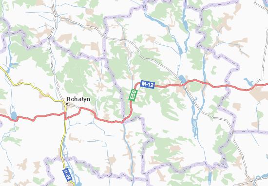 Mapas-Planos Kuryany