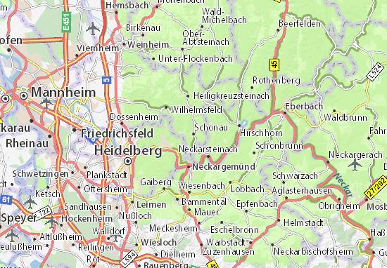 Mapas-Planos Schönau