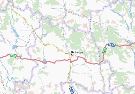 Mapas-Planos Pidhoroddya
