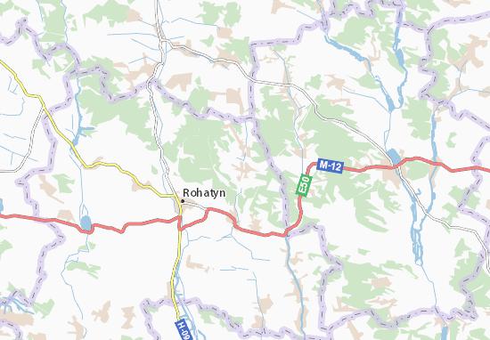 Mapas-Planos Dobryniv