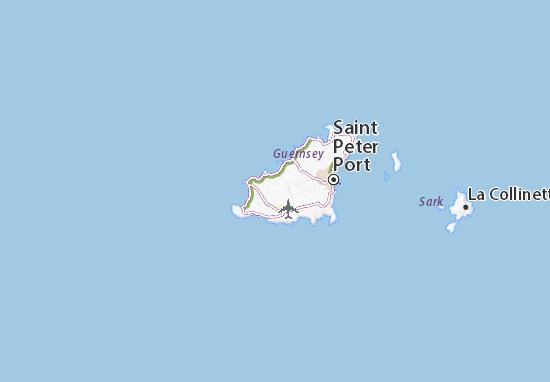 Saint Saviour Map