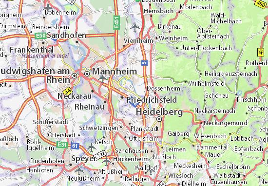 Edingen Map