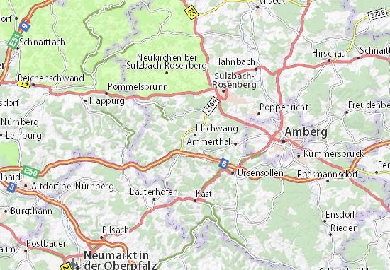 Mapas-Planos Illschwang