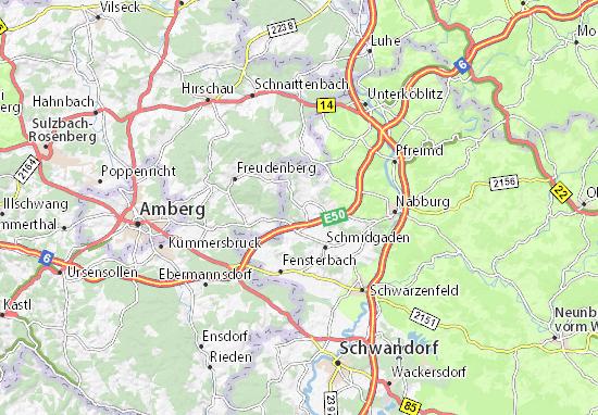 Karte Stadtplan Rottendorf