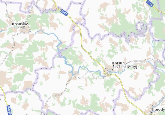 Mapas-Planos Vyhraiv