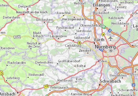 Cadolzburg Map
