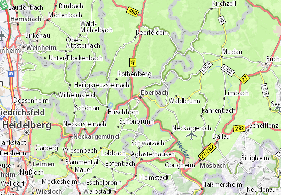 Carte-Plan Eberbach