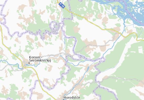 Mapas-Planos Chervone