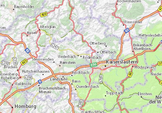 Carte-Plan Rodenbach