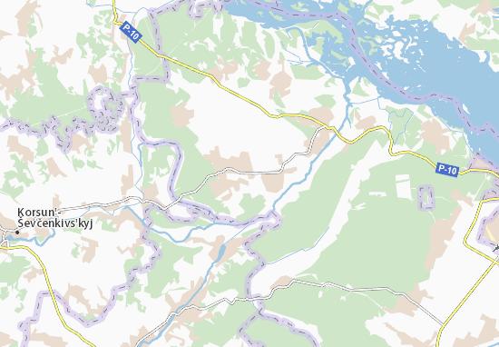 Mapas-Planos Yasnozir'ya
