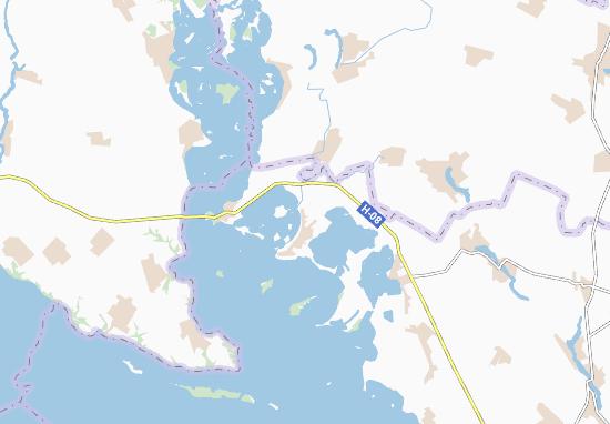Mapas-Planos Svyatylivka