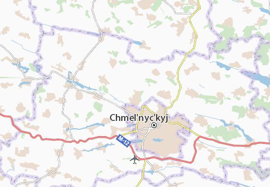 Carte-Plan Oleshyn