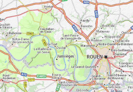 Duclair Map