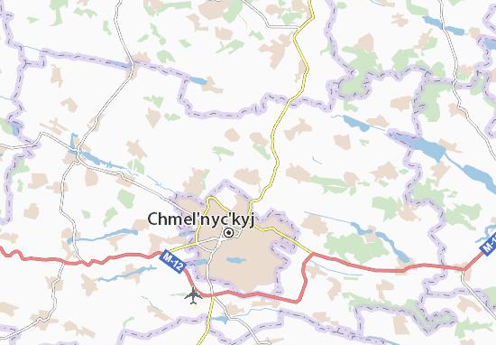 Mapas-Planos Lisovi Hrynivtsi