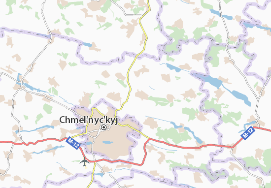 Mapas-Planos Stufchyntsi