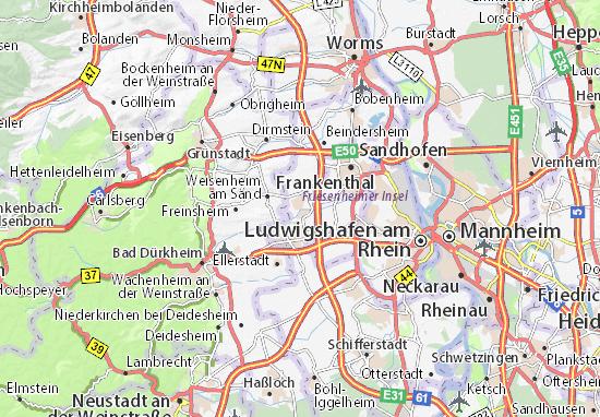 Carte-Plan Lambsheim