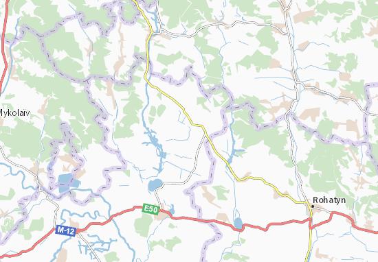 Mapas-Planos Kniselo