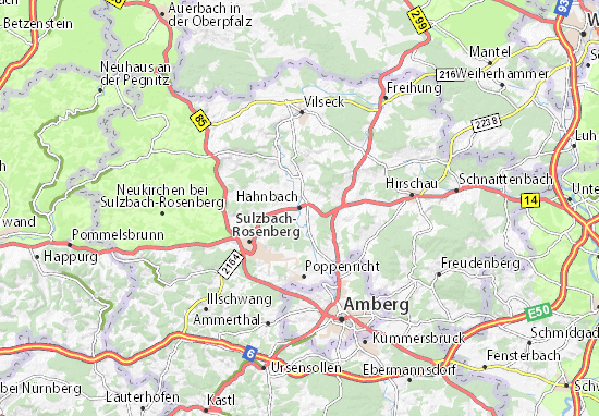 Mapas-Planos Hahnbach