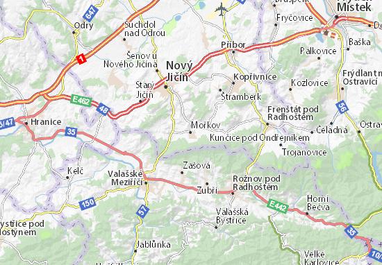 Mapas-Planos Mořkov