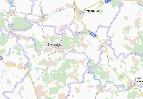 Mapas-Planos Teptiivka