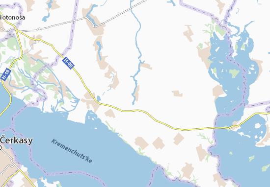 Mapas-Planos Staryi Kovrai