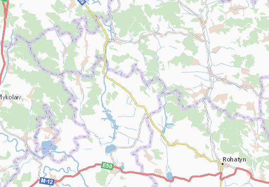 Mapas-Planos Bakivtsi