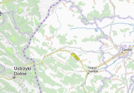 Slokhyni Map