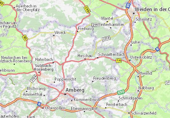 Mapas-Planos Hirschau