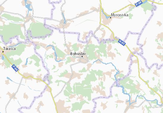 Mapas-Planos Bohuslav