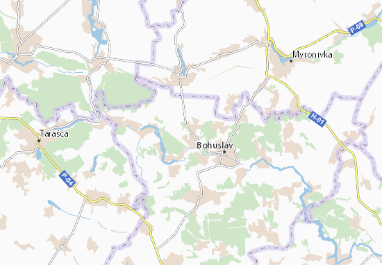 Mapas-Planos Mysailivka