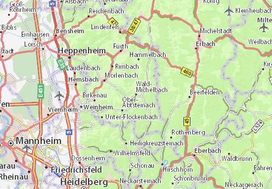 Mappe-Piantine Wald-Michelbach