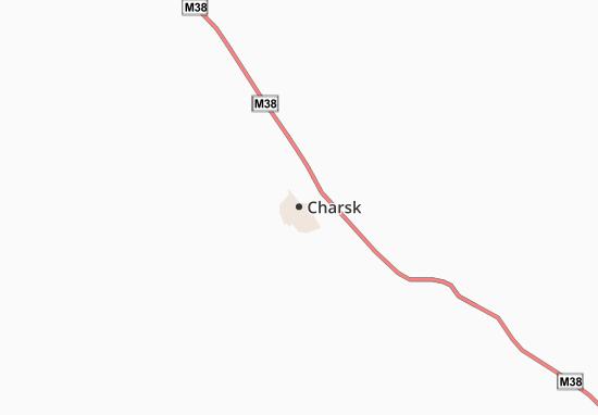 Charsk Map