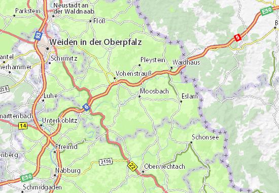 Carte-Plan Moosbach