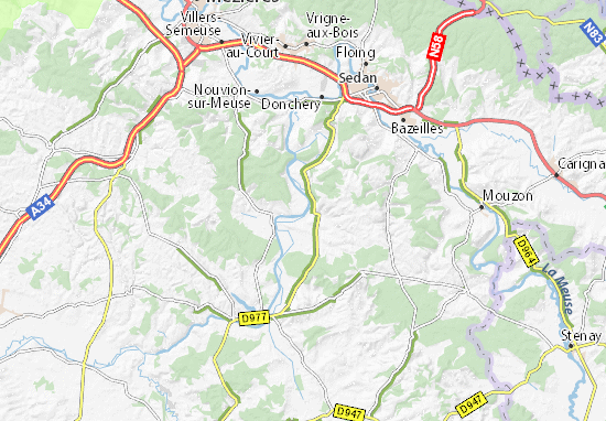 Map France 987.Map Of Malmy Michelin Malmy Map Viamichelin