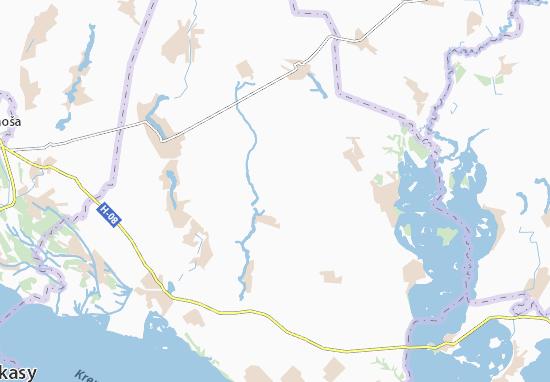 Mapas-Planos Lukashivka