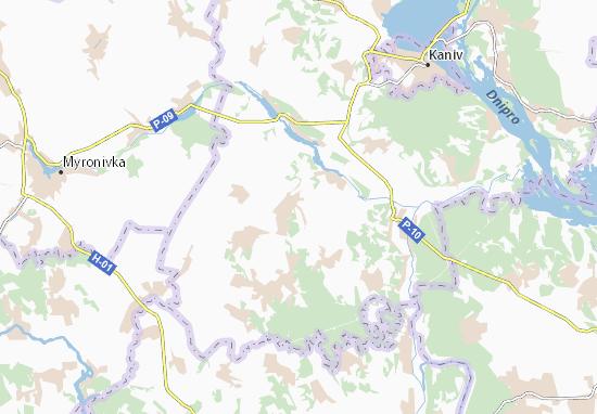 Carte-Plan Martynivka