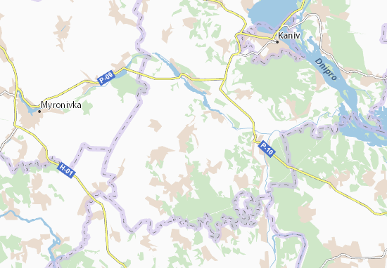 Mapas-Planos Martynivka