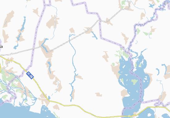 Mapas-Planos Vyshnivka