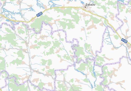 Chemeryntsi Map