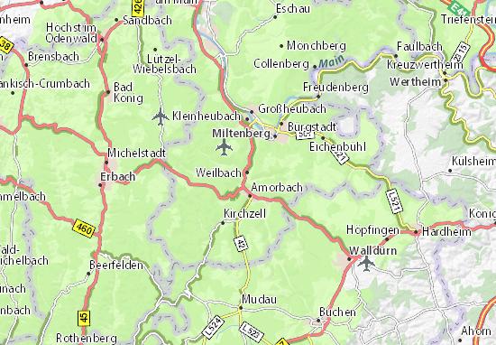 Carte-Plan Weilbach