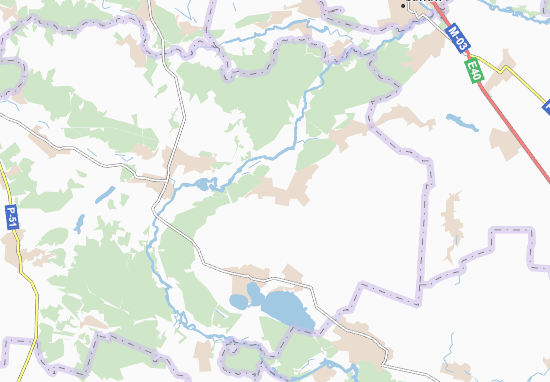 Carte-Plan Heniivka