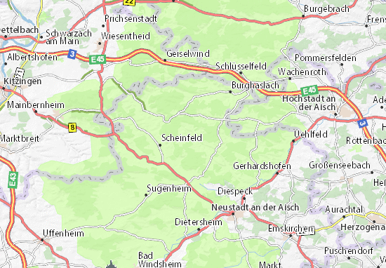 Frankfurt Map: Detailed maps for the city of Frankfurt - ViaMichelin