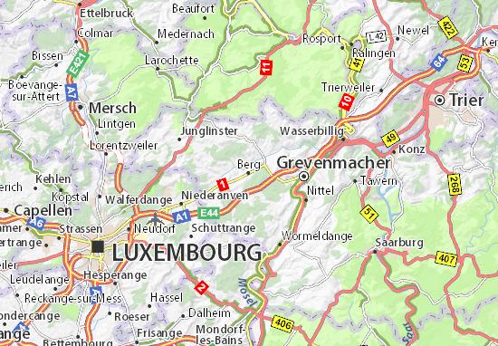 Berg Map