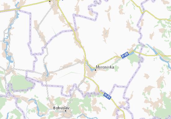 Mappe-Piantine Rosava