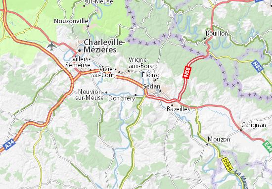 Donchery Map