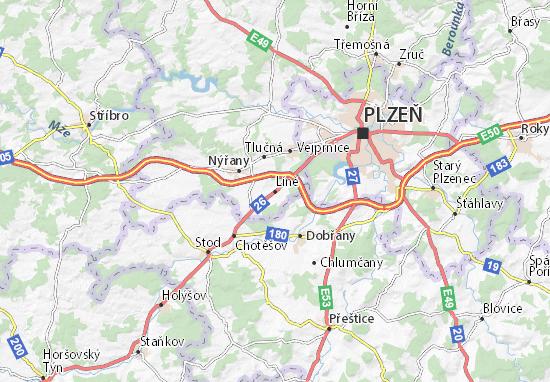 Líně Map