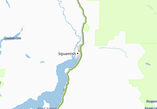 Squamish Map