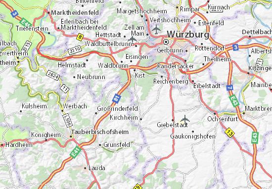 Kleinrinderfeld Map