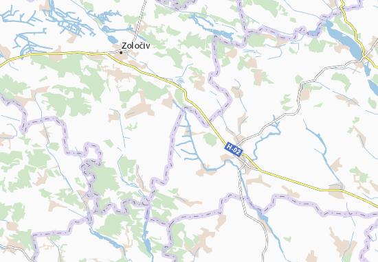 Carte-Plan Plisnyany