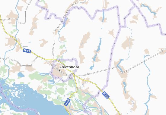 Mapas-Planos Bohuslavets'